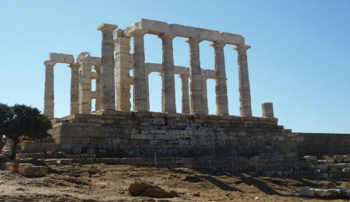 Прогулка к храму Посейдона.