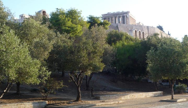 Экскурсия по Афинам.