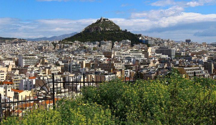 Весенние Афины.