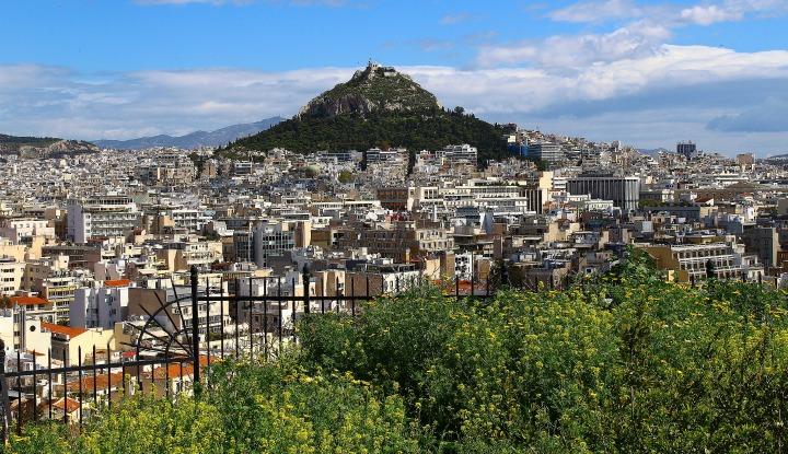 Весенние Афины 2020.