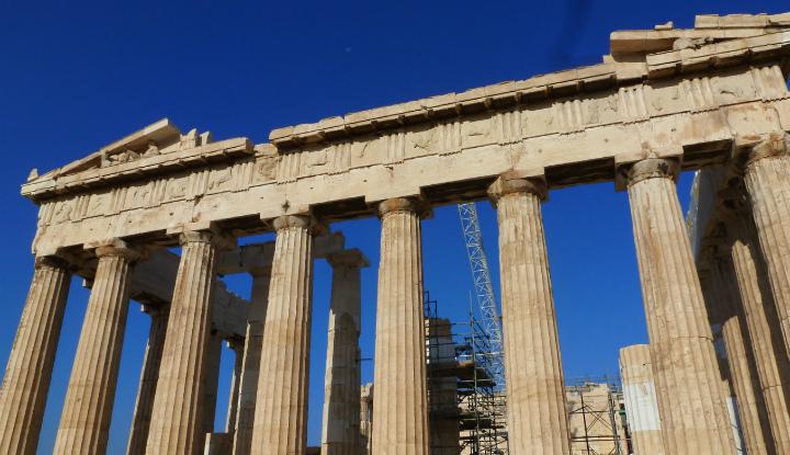 Экскурсия в Афинах.