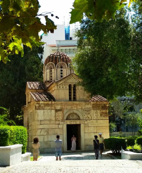 Церковь в Афинах.